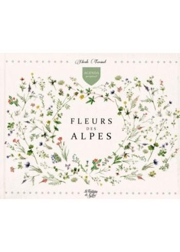 Agenda perpétuel Fleurs des Alpes